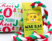 Christmas Stuff Catnip Stuffed MadRat Cat Toy