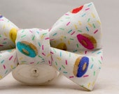 Dapper Cat Donuts Bow Tie