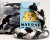 Stormy Bats Halloween Catnip Stuffed MadRat Cat Toy