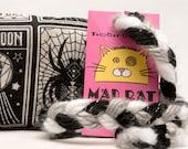 Tarot Cats Catnip Stuffed MadRat Cat Toy