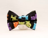 Dapper Cat Colorful Kitties Bow Tie