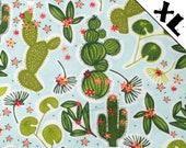 Cactus Toss Pattern XL Refillable Catnip Mat