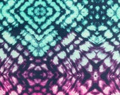 Green and Pink Abstract Pattern Nipmats Refillable Catnip Mat