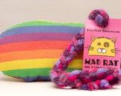 Rainbow Stripes Catnip St...