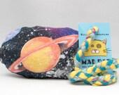 Planetary Pattern MadRat Catnip Stuffed Cat Toy