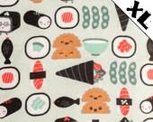 Cute Sushi XL Refillable Catnip Mat