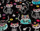 Sugar Skull Skeleton Cats...