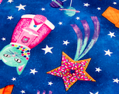 Candy Space Cats Refillable Catnip Mat