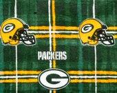 Green Bay Packers Football Refillable Catnip Mat