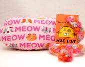 Pink Meow Catnip Stuffed ...