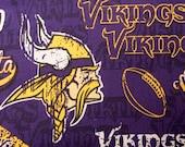 Minnesota Vikings Refillable Catnip Mat