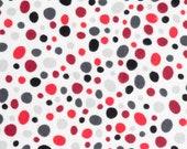 Red and Black Polka Dot Design Refillable Catnip Mat