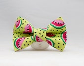 Dapper Cat Watermelon Bow Tie