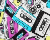 Old School Rainbow Cassette Tapes Nipmats Refillable Catnip Mat