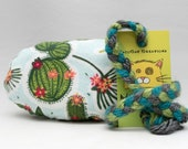 Cute Cactus Pattern MadRat Catnip Stuffed Cat Toy