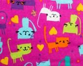 Cute Cats and Hearts Nip Mat Refillable Catnip Mat