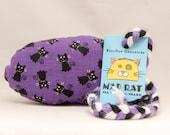 Black Cats on Purple Catn...