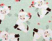 Cute Siamese Kitten XL Refillable Catnip Mat