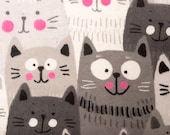 Cute Cartoon Cats Refillable Catnip Mat