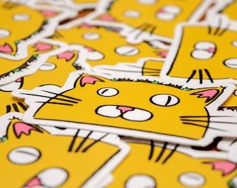 TacoCat Logo Stickers (1)