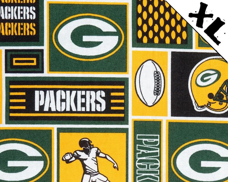 Green Bay Packers XL Refillable Catnip Mat image 0