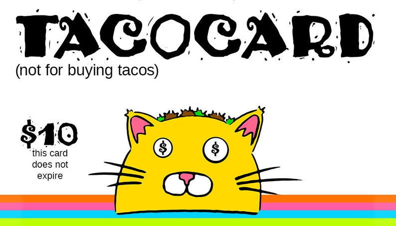 TacoCard Gift Cards image 1