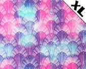 Rainbow Fans Pattern XL Refillable Catnip Mat