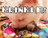 KRINKLE Mice - Krinkly Catnip-stuffed felt toys