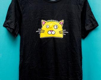TacoCat Logo Tee Shirts - Small Logo - Black