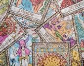 Nip Mats Colorful Tarot Cards Pattern Refillable Catnip Mat