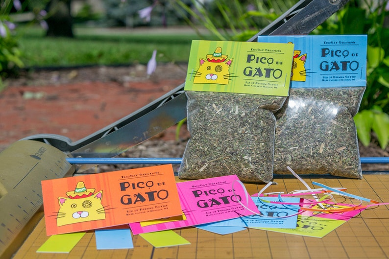 Pico de Gato  1oz Resealable Package of Super Potent Catnip image 0