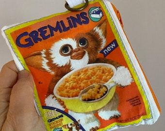 Gremlins Cereal, Vintage Cereal Illustration, Bag/Wallet, Retro Cereal Box Wallet
