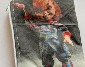 Child's Play Purse, Chucky Wallet, Make-Up Bag