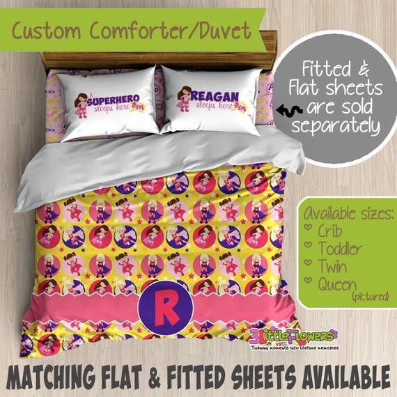 Superhero Custom Comforter/Duvet - Kids Comforter - Kids ...