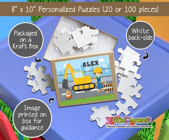 Personalized 8 x 10 Puzzle 20 pieces Puzzle Personalized Name Puzzle Sailor Puzzle Nautical Puzzle Personalized Children Puzzle