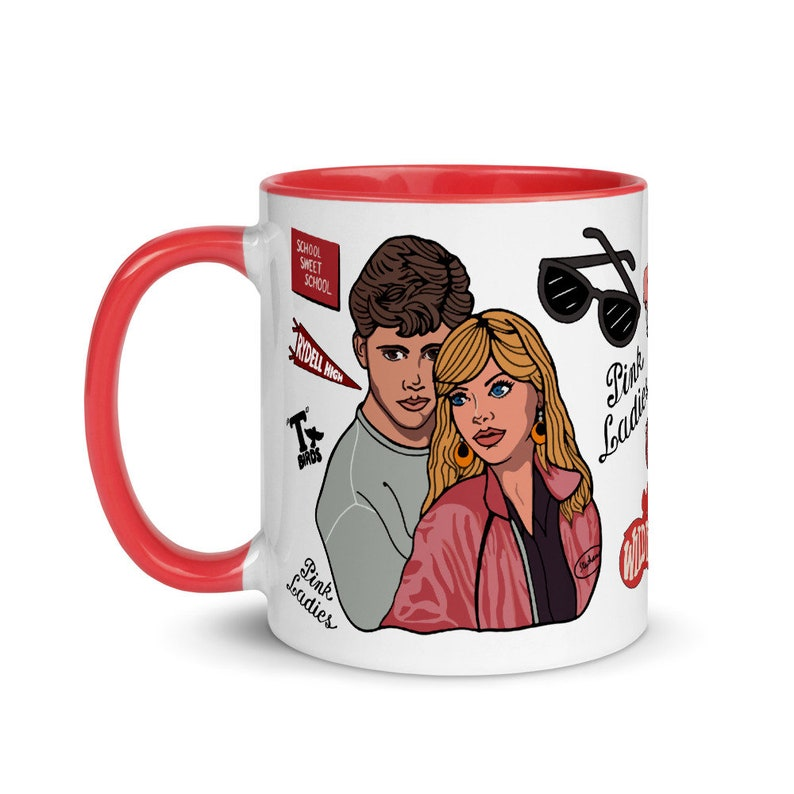 Grease 2 Mug with Color Inside image 0