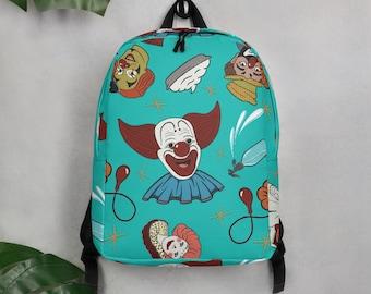 Vintage Clowns Retro Minimalist Backpack