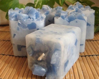 Votive Candles - 6pk full set or Sample 3pk - SPA/AROMATHERAPY Scents (you choose)