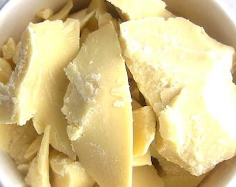Raw Organic Cocoa Butter 8 oz 1/2 pound