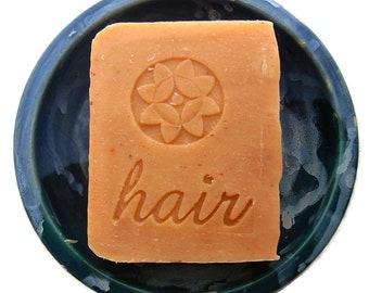 Orange Lavender Shampoo Bar, Vegan Shampoo Bar, SLS free shampoo bar, Palm oil free shampoo bar, Zero Waste Shampoo bar