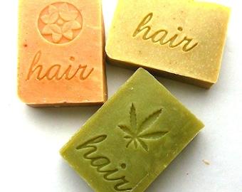 Shampoo Bar Set of 6 Your Choice, Shampoo Bars, Solid Shampoos, vegan shampoo bar, palm oil free shampoo, SLS free shampoo bar, plastic free