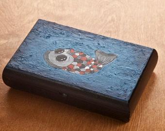 Odd Fish Wooden Box