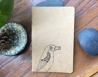 Bird moleskine lined journal