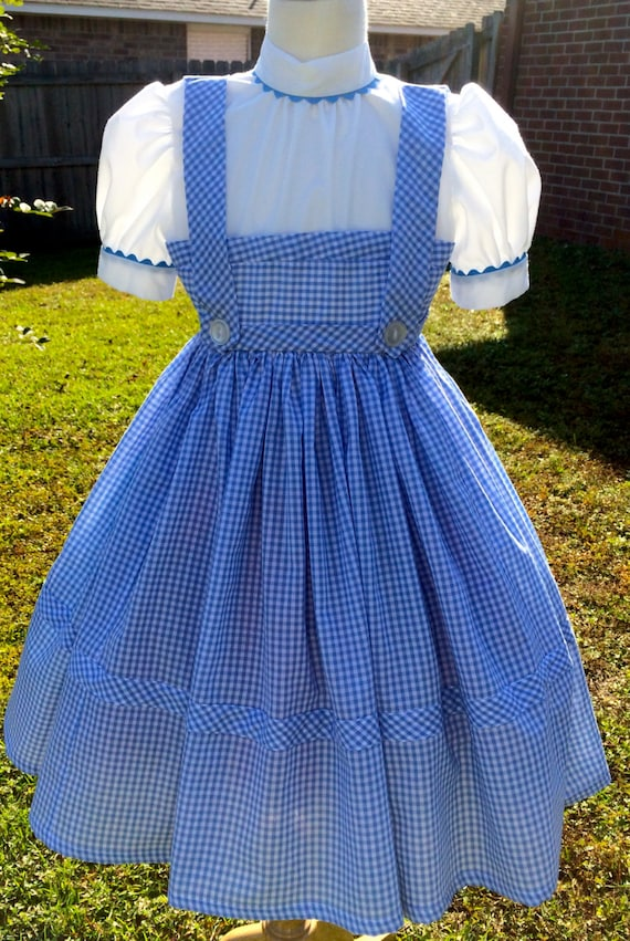 Adult Women S Wizard Of Oz Inspired Dorothy Costume Etsy