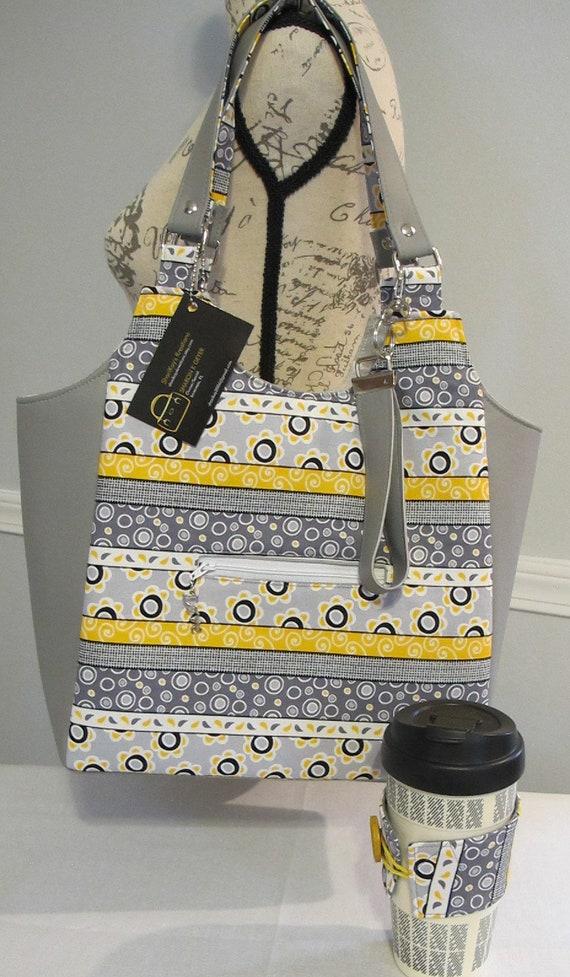 Koozie Clydebank Tote Womens Bag Free Shipping Key Fob Shoulder Bag