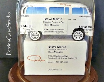 Scraper equipment business card sculpture 1358 made in usa etsy vw bus business card sculpture 1352 made in usa colourmoves