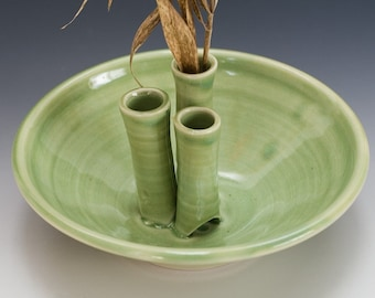 Green Snippet Bud bowl by Bunny Safari