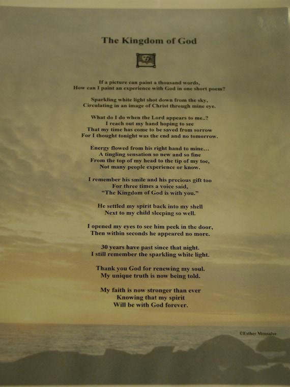 The Kingdom of God Poem