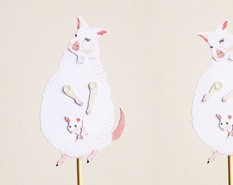 DIY Paper Puppet - Wallaby