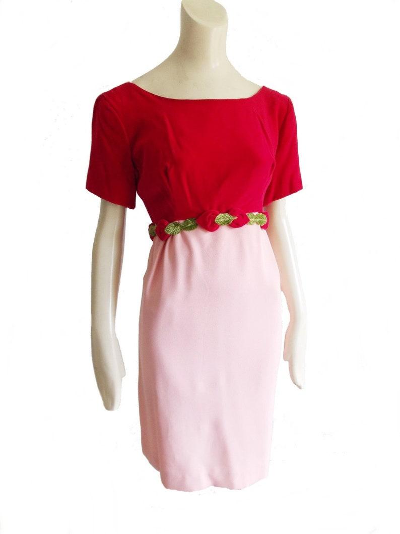 d9cb9095b857 Hot Pink Floral Cocktail Dress - raveitsafe